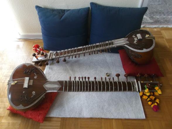 Indisch Sitar, H&K Bass, Udo Franck